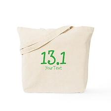 Custom GREEN 13.1 Optional Text Tote Bag