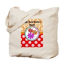 Happy Social worker month 4 Tote Bag