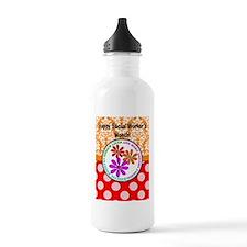 Happy Social worker month 4 Water Bottle