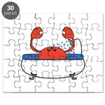 Crab in Bathtub Puzzle