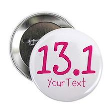 "Customize PINK 13.1 2.25"" Button"