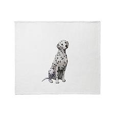 Dalmatian #1 Throw Blanket