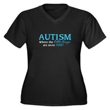 Autism Little Things Plus Size T-Shirt