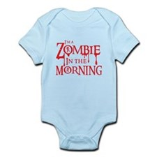 Im a ZOMBIE in the MORNING Body Suit