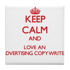 Advertising Copywriter Tile Coaster