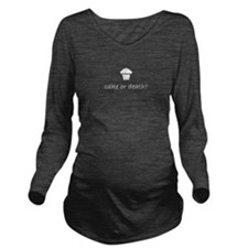 Eddie izzard Long Sleeve Maternity T-Shirt