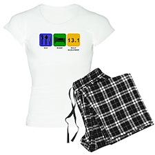 Eat Sleep Half Marathon pajamas