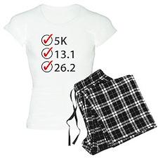 Running Checklist pajamas
