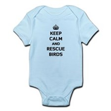 Keep Calm and Rescue Birds Infant Bodysuit