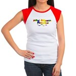 My Mom Rocks Women's Cap Sleeve T-Shirt