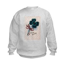 Four Leave Clover for Good Luck Sweatshirt