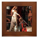 The Accolade & Boxer Framed Tile