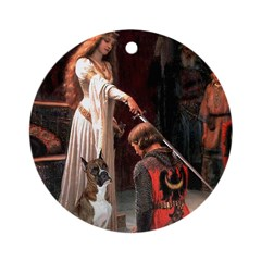 The Accolade & Boxer Ornament (Round)