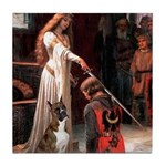 The Accolade & Boxer Tile Coaster