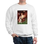 Seated Angel & Boxer Sweatshirt