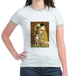 The Kiss & Boxer Jr. Ringer T-Shirt