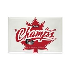 Canada 2014 Rectangle Magnet