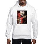 Lady & Boxer Hooded Sweatshirt