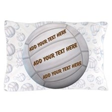 Beach Volleyball Pillow Case