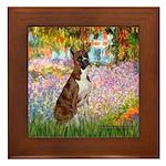 Garden & Boxer Framed Tile