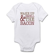 Wake Up Smell Bacon Infant Bodysuit