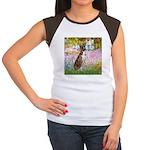 Garden & Boxer Women's Cap Sleeve T-Shirt