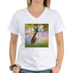 Garden & Boxer Women's V-Neck T-Shirt