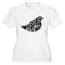 The Bird is the Word Plus Size T-Shirt