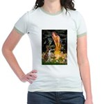 Fairies & Boxer Jr. Ringer T-Shirt