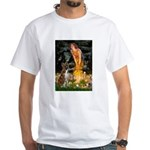 Fairies & Boxer White T-Shirt