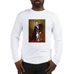 Lincoln & his Boxer Long Sleeve T-Shirt