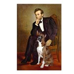 Lincoln & his Boxer Postcards (Package of 8)