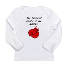 My Favorite Boxer Is My Daddy Long Sleeve T-Shirt
