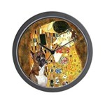 The Kiss & Boxer Wall Clock