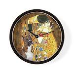 The Kiss & Boxer Wall Clock