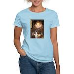The Queen & her Boxer Women's Light T-Shirt