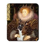 The Queen & her Boxer Mousepad