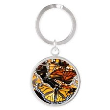 Monarch Butterfly 2 Square Keychains