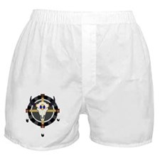 Skull Medicine Wheel Boxer Shorts