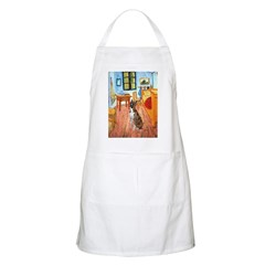 Room with a Boxer Apron