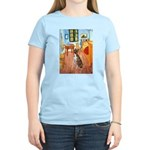 Room with a Boxer Women's Light T-Shirt