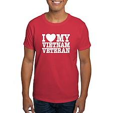 I Love My Vietnam Veteran T-Shirt