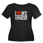 I Love My Vietnam Veteran Women's Plus Size Scoop