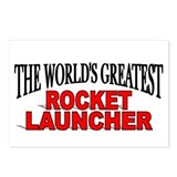 """The World's Greatest Rocket Launcher"" Postcards ("