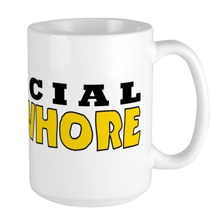 Official Man Whore Large Mug