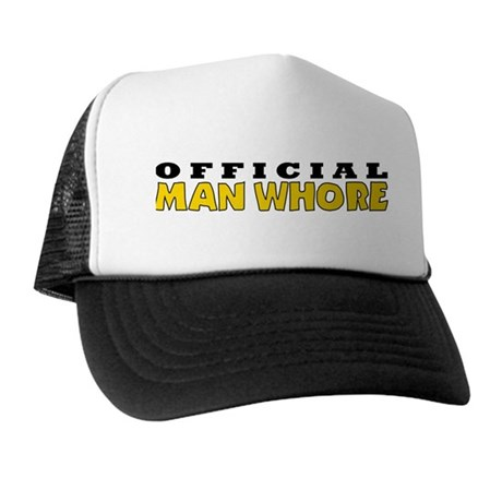 Official Man Whore Trucker Hat