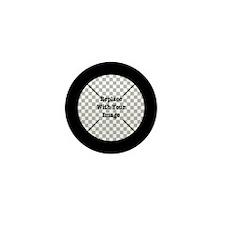 Customizable Black Mini Button