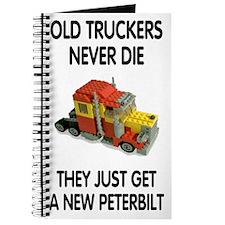 Old Truckers Never Die<BR>Mileage Journal