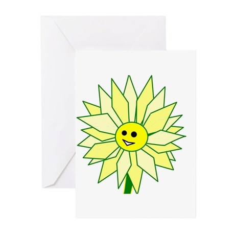 Happy Flower Greeting Cards (Pk of 10)