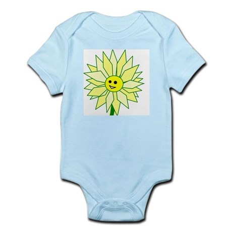 Happy Flower Infant Bodysuit